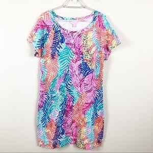 Lilly Pulitzer Sanibel Dress Electric Feel Print